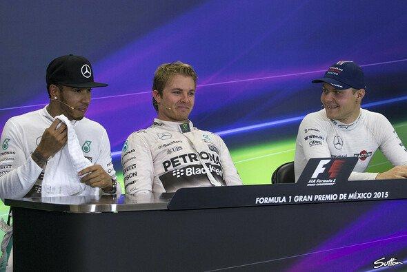 Nico Rosberg meint: Mercedes-Nachfolger Bottas kann Hamilton im dritten Anlauf durchaus noch fordern - Foto: Sutton