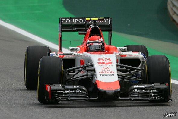 Alexander Rossi bestritt fünf Rennen für Manor Marussia - Foto: Sutton