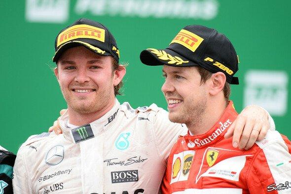 Sebastian Vettel hat die besten Chancen um 2017 an Nico Rosbergs Erfolge anzuknüpfen - Foto: Sutton