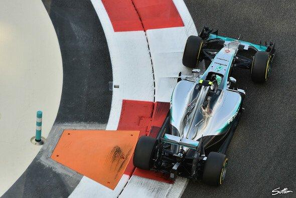 Nico Rosberg fuhr in Abu Dhabi auf die Pole-Position - Foto: Sutton