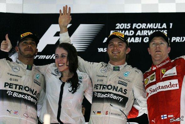 Kimi Räikkönen fuhr zum dritten Mal in dieser Saison aufs Podest - Foto: Sutton
