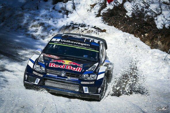 Sebastien Ogier 2016 bei der Rallye Monte Carlo - Foto: Sutton