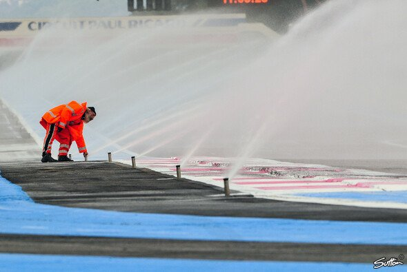 Sprinkleranlage in Paul Ricard - Foto: Sutton