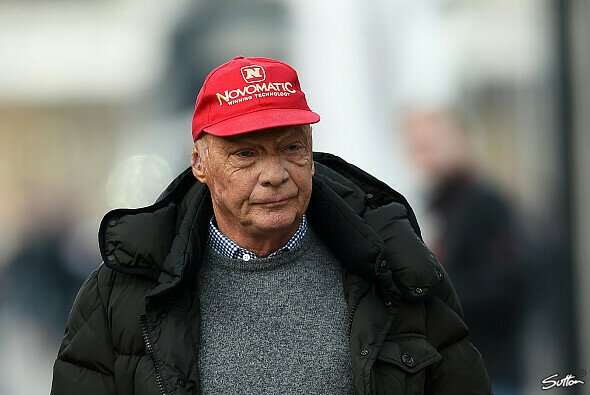 Niki Lauda äußert seine Gedanken zur anstehenden Saison - Foto: Sutton