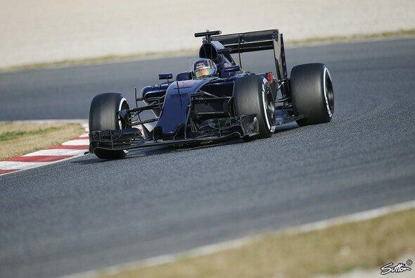 Der aktuelle Toro-Rosso-Bolide ist nicht nur optisch noch unvollendet - Foto: Sutton