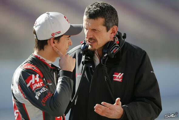 Haas-Teamchef Günther Steiner stärkt Esteban Gutierrez angesichts der harten Kritik den Rücken - Foto: Sutton