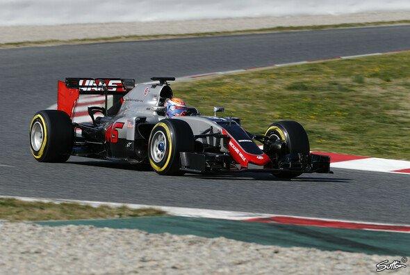 Der neue Haas-Bolide kämpft noch mit der Zuverlässigkeit - Foto: Sutton