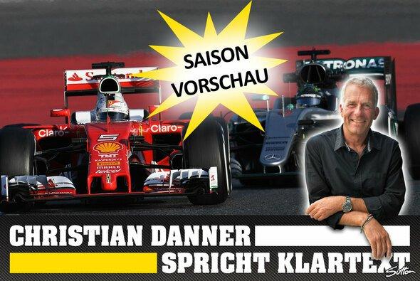 Christian Danner sieht Sebastian Vettel im Ferrari als ernsthaften Konkurrenten für Mercedes - Foto: Sutton/Motorsport-Magazin.com