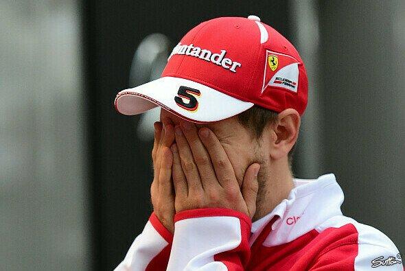 Sebastian Vettel kann es nicht gauben: Das Qualifying bleibt unverändert - Foto: Sutton