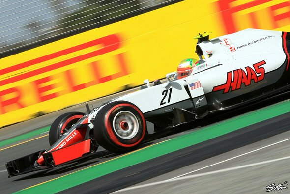 Haas ist rasch in der Formel 1 angekommen - Foto: Sutton