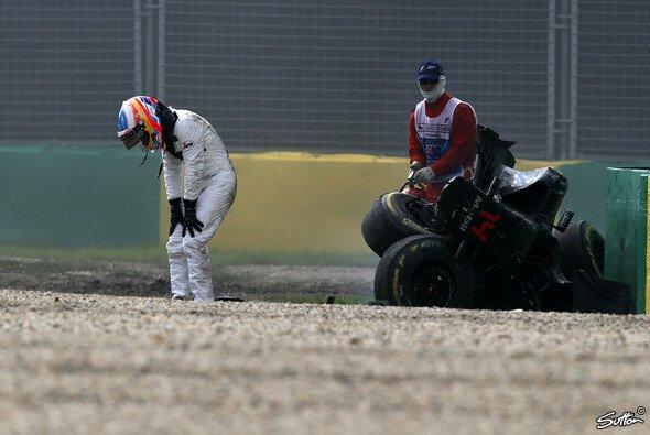 Fernando Alonso hatte in Australien einen Schutzengel - Foto: Sutton