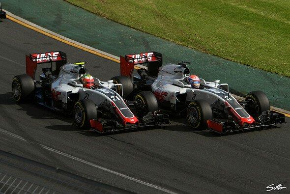 Haas startete gut in die erste Formel-1-Saison. Doch läuft der Bahrain GP ebenso gut für Grosjean und Co.? - Foto: Sutton