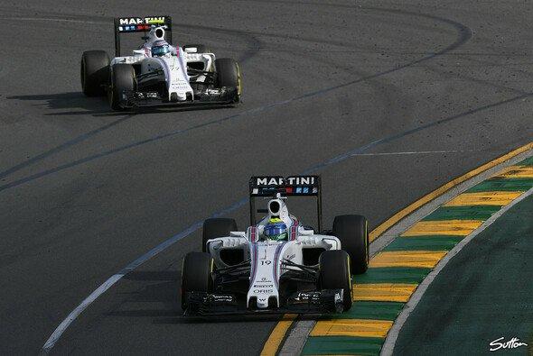 Williams' Valtteri Bottas und Felipe Massa reisen voller Hoffnung nach Bahrain, doch die Teamführung fürchtet sehr starke Gegner - Foto: Sutton