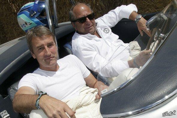 Zwei Legenden des deutschen Motorsports: Klaus Ludwig und Bernd Schneider - Foto: Sutton