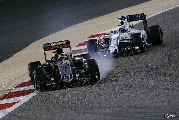 Force India muss in China dringend den Reifenverschleiß verbessern - Foto: Sutton