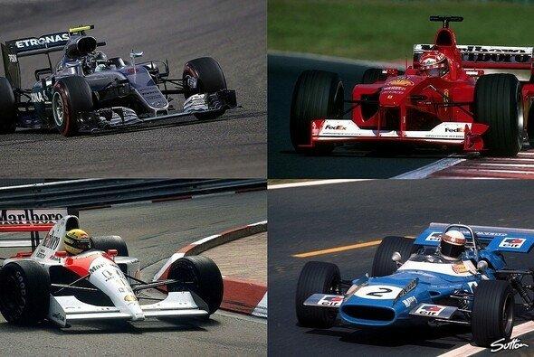 Nico Rosberg wandelt auf den Spuren von F1-Legenden - Foto: Sutton