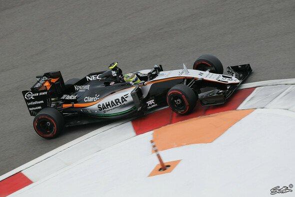Perez konnte beim 100. Rennen Punkte mitnehmen - Foto: Sutton