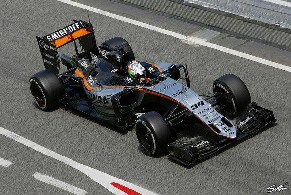 Force India validierte bei den Testfahrten in Barcelona das Upgrade am VJM09 - Foto: Sutton