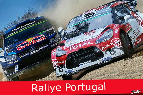 Sebastien Ogier gegen Kris Meeke - das Duell der Rallye Portugal - Foto: Sutton/Motorsport-Magazin.com