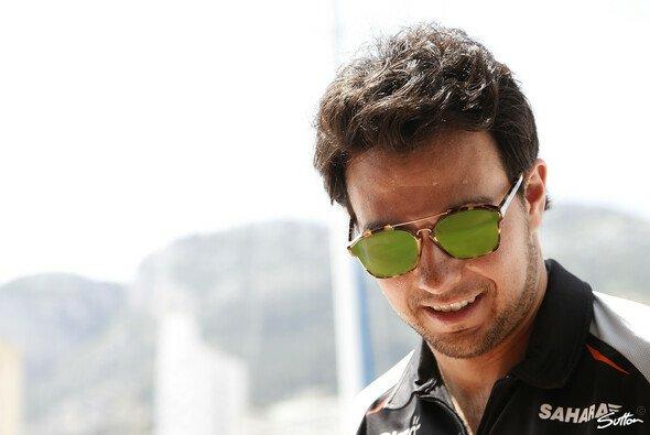 Sergio Perez hat bereits eine bewegte Karriere hinter sich: Bei Force India fühlt er sich wieder wohl - Foto: Sutton