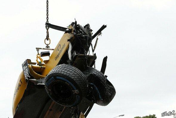 Beim Monaco GP wurde jede Menge Schrott produziert - Foto: Sutton