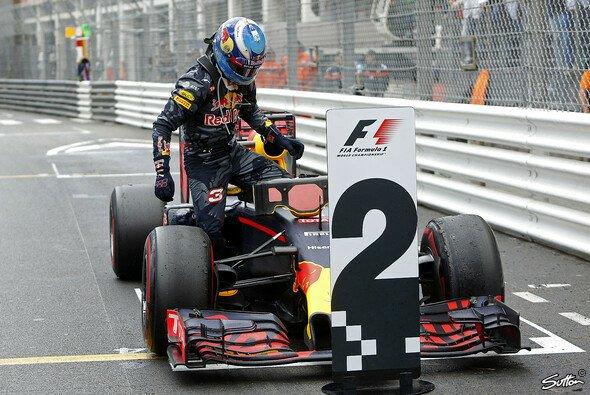 Nur Nummer 2: Daniel Ricciardo nach Team-Patzer in Monaco - Foto: Sutton