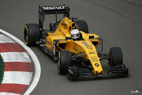 Kevin Magnussen fuhr mit seinem Renault in Kanada in die Mauer - Foto: Sutton