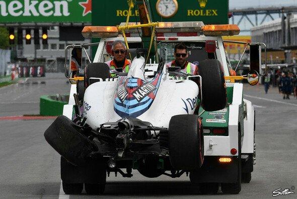 Felipe Massa sorgte beim 1. Freien Training zum Kanada GP für eine Trainingsunterbrechung - Foto: Sutton