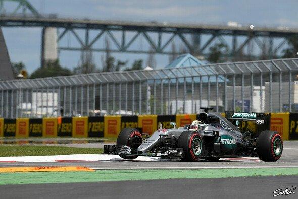 Lewis Hamilton dominierte auch das 2. Freie Training zum Kanada GP - Foto: Sutton