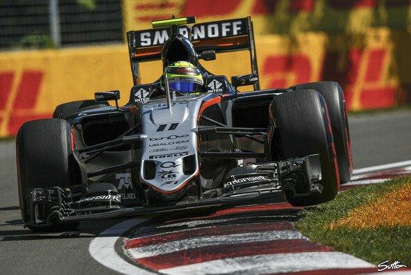 Force India will auch in Baku Punkte einfahren - Foto: Sutton