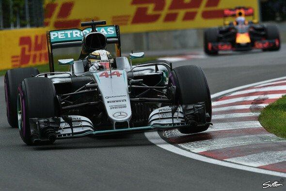 Mercedes dominierte das Qualifying zum Kanada Grand Prix - Foto: Sutton