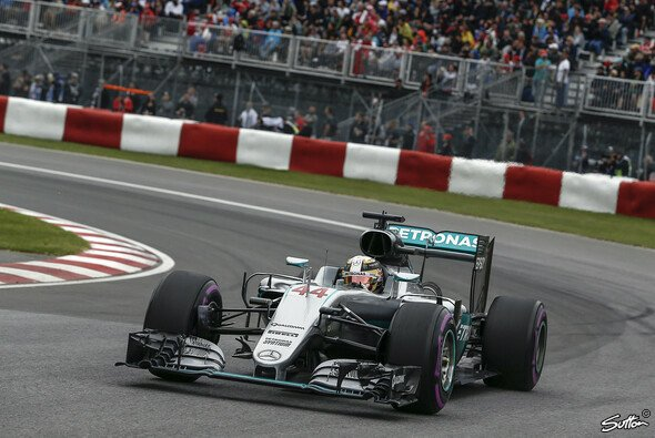 Lewis Hamilton sicherte sich die Pole beim Kanada GP - Foto: Sutton