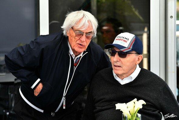 Bernie Ecclestone und Frank Williams beim Kanada GP 2016 - Foto: Sutton