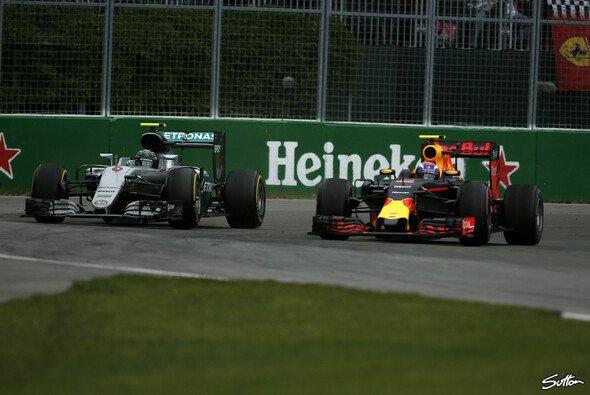 An Verstappen biss sich Rosberg die Zähne aus - Foto: Sutton