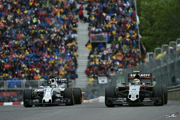 Force India und Williams suchen in Brasilien die Entscheidung - Foto: Sutton