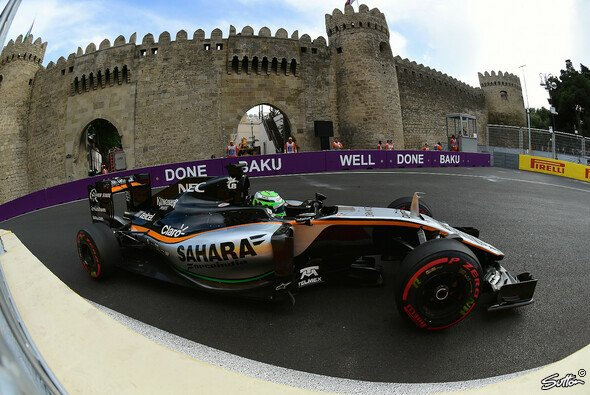 Wiederholt Force India in Österreich die Baku-Performance? - Foto: Sutton