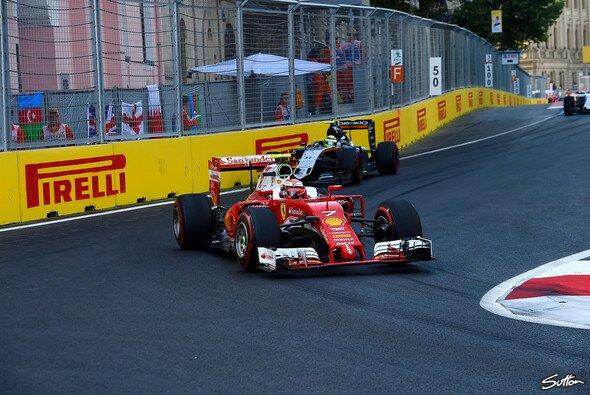 Kimi Räikkönen erlebte in Baku ein trubulentes Rennen - Foto: Sutton