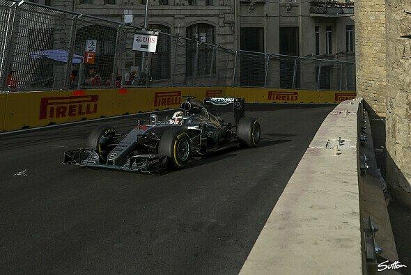 Hamilton erreichte im Rennen die höchste Geschwindigkeit - Foto: Sutton