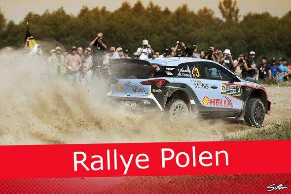 Die Rallye Polen hält verschiedenste Herausforderungen für die Piloten bereit - Foto: Sutton/Motorsport-Magazin.com
