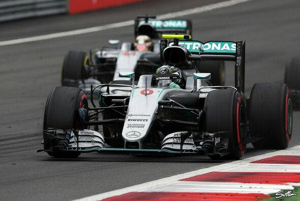 Rosberg hat die Nase im Mercedes-Duell wieder deutlich vor Hamilton - Foto: Sutton