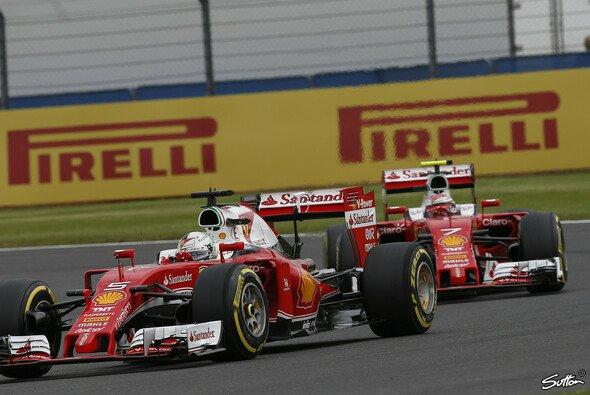 In Silverstone lief es für die Scuderia wenig erfolgreich - Foto: Sutton
