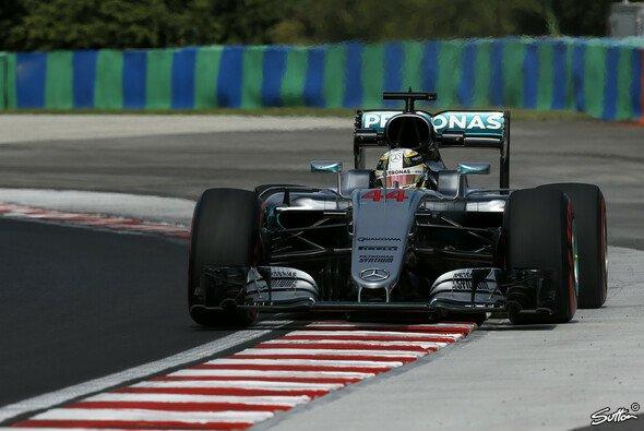 Lewis Hamilton setzte im 1. Freien Training zum Ungarn GP eine erste Duftmarke - Foto: Sutton