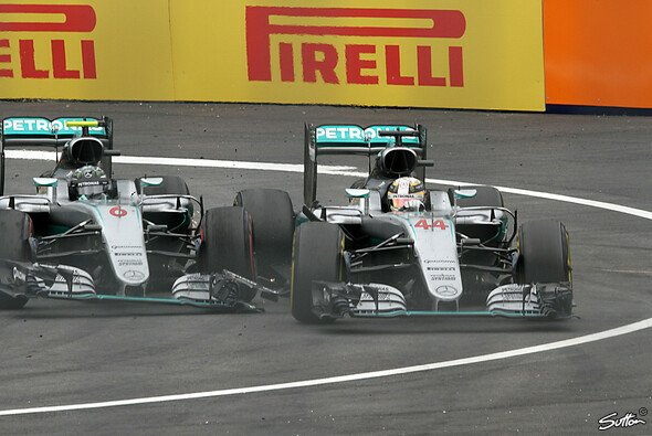 Kommt Lewis Hamilton noch einmal ran an Nico Rosberg? - Foto: Sutton