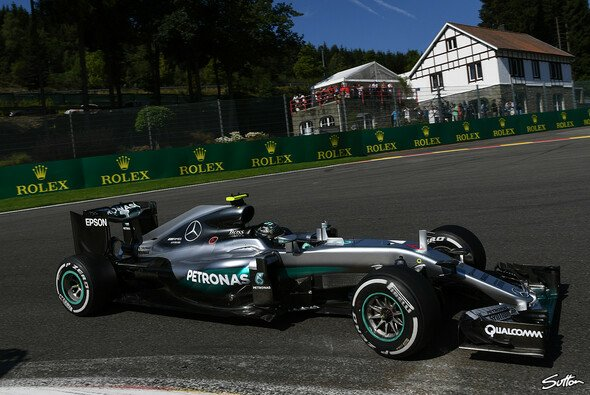 Nico Rosberg fuhr die Bestzeit im 1. Training in Spa - Foto: Sutton