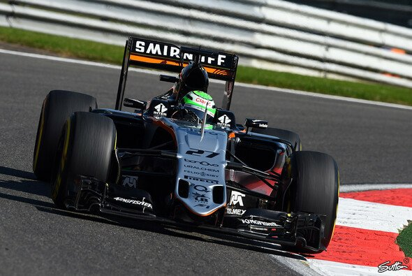 Hülkenberg geht von Startplatz sieben in den Belgien GP - Foto: Sutton