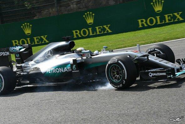 Lewis Hamilton wurde in Spa Dritter - Foto: Sutton