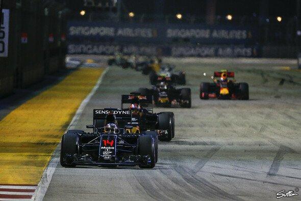 Im Mittelfeld hatte McLaren die Nase vorne - Foto: Sutton