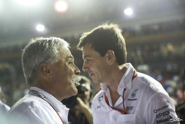 Übernimmt Toto Wolff 2021 den Posten als Libertys F1-CEO von Chase Carey? - Foto: Sutton