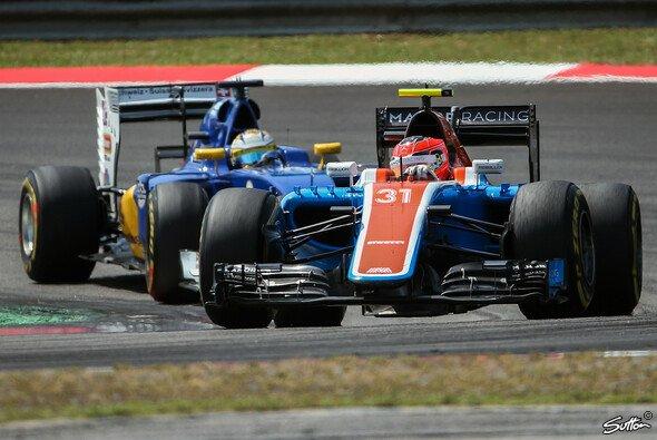 Für Manor geht es in Suzuka erneut darum, Sauber von den Punkten fernzuhalten - Foto: Sutton