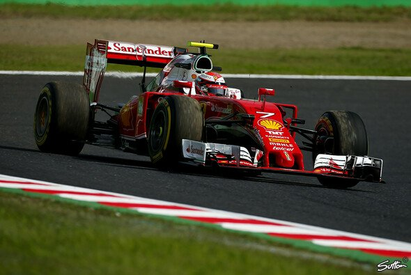 Kimi Räikkönen war im Japan-Training erster Mercedes-Verfolger - Foto: Sutton